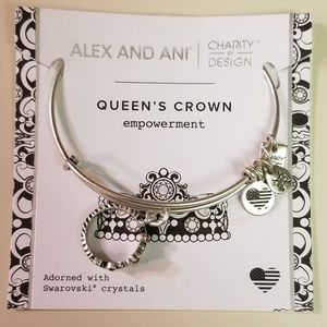Alex and Ani Queen's Crown (Empowerment) Bangle